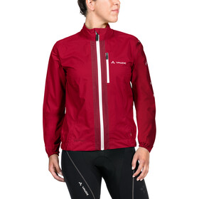 VAUDE Umbrail Jas Dames, indian red